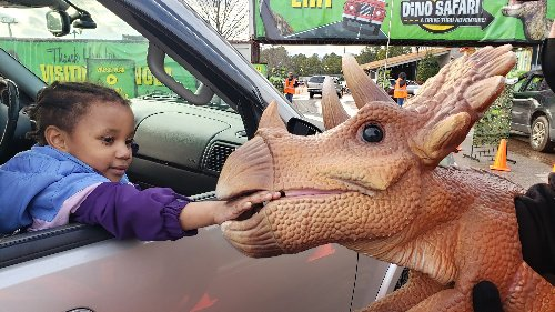 3 prehistoric dinosaur drive-thru and strolling adventures coming to Michigan