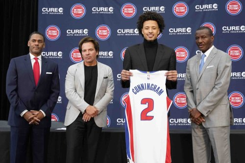 Daly family gives Pistons guard Cade Cunningham permission to wear No. 2