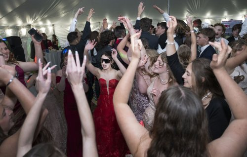 Michigan Center students write their own story at 2021 prom