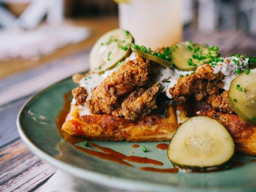 Chicken and waffles go beyond brunch, get creative