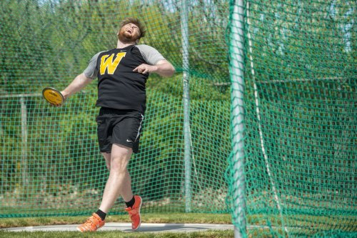 Shot put, discus and sushi king Justin Doty leads Western to Bay County crown