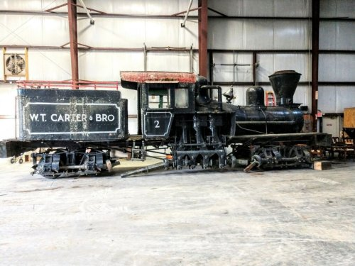 Historic logging locomotive to be restored for display in Michigan inventor's hometown