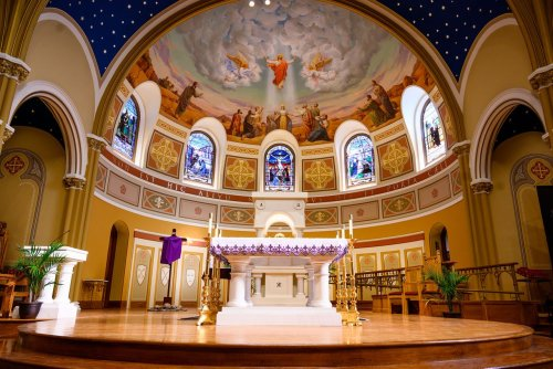 This historic Ann Arbor church is celebrating Easter with brand new murals