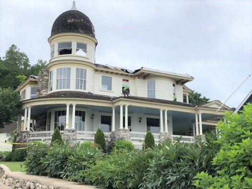 The monumental task to restore this historic Mackinac Island home fire nearly destroyed