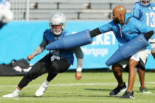 Why Dan Campbell was 'fired up' by the Amon-Ra St. Brown, Ifeati Melinfonwu practice fight