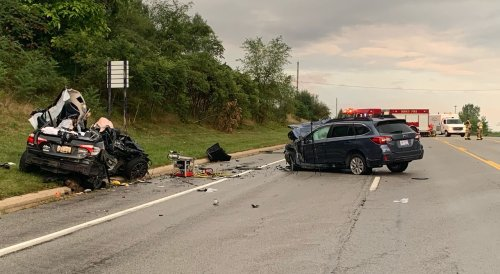 Driver and 13-year-old passenger killed in 2-vehicle crash
