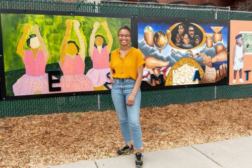 New downtown Ann Arbor mural depicts what Black Lives Matter means to 8 artists
