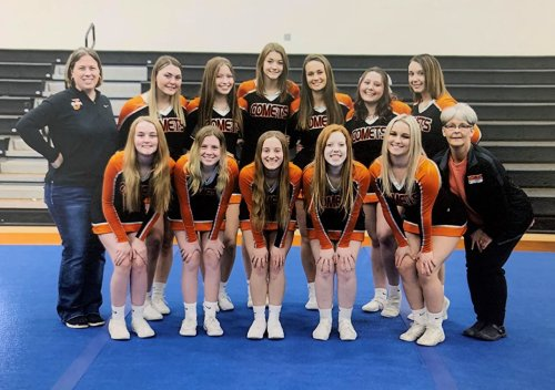 Meet the Big Eight All-Conference competitive cheer team for the 2021 season