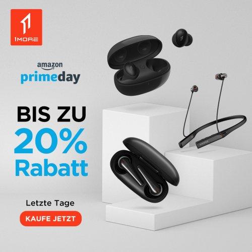 1MORE Prime Day: Bis zu 20% Rabatt auf ausgewählte 1MORE-Produkte