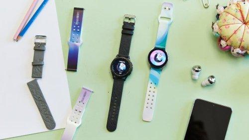 Samsung verkauft Galaxy Watch-Armbänder, gefertigt aus Apfelschalen