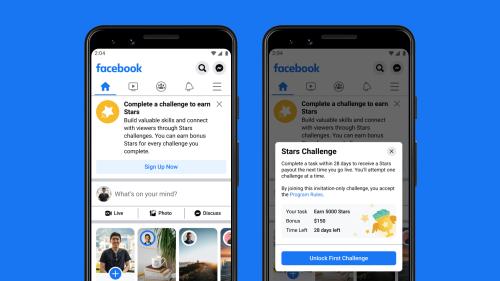 Facebook will pay creators $1 billion through 2022