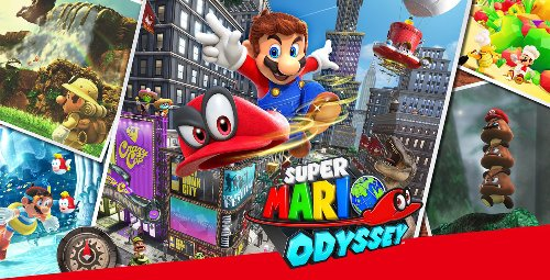 Super Mario Odyssey and 6 other Switch games are steeply discounted right now