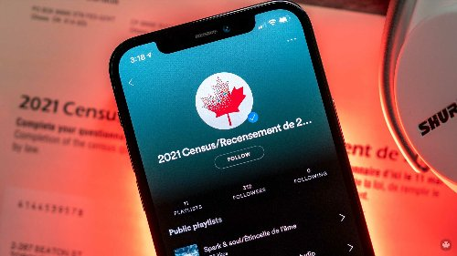 Statistics Canada launches 11 playlists to celebrate the 2021 Census