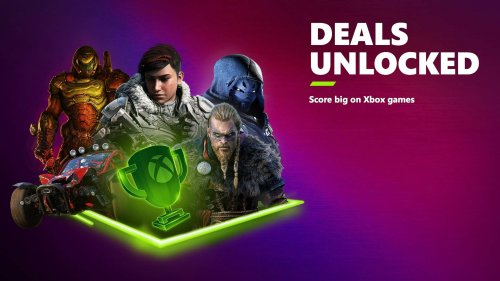 Xbox's 'Deals Unlocked' sale offers up to 75 percent off hundreds of games