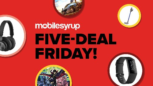 The five best tech deals in Canada this week