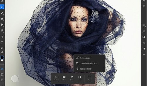iPad için Adobe Photoshop Yeni Özellikler Kazanıyor