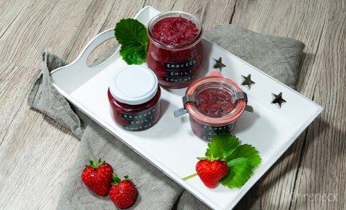 Erdbeer-Chili-Chutney - Möhreneck