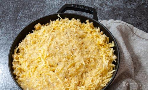 vegane Käsespätzle - Möhreneck