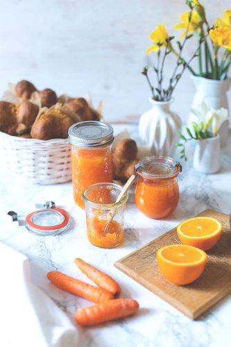 Möhren-Orangen-Konfitüre