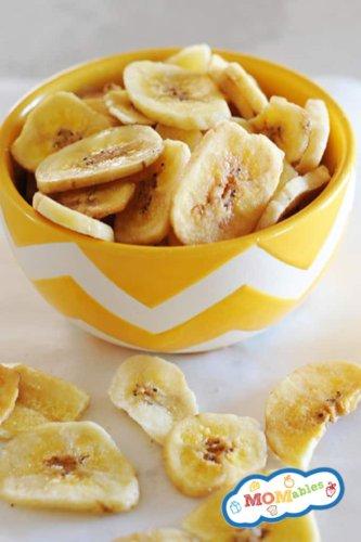 Homemade Baked Banana Chips Recipe