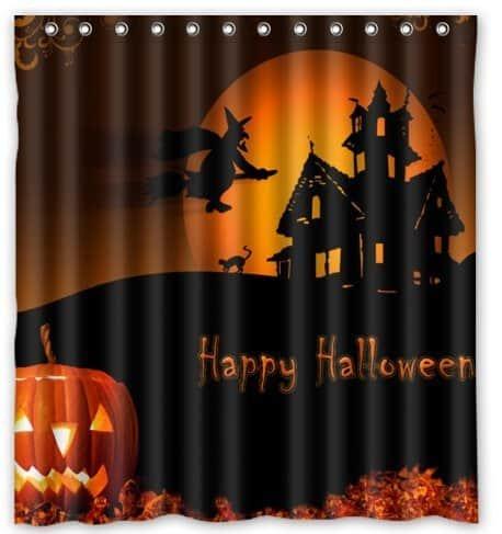 Halloween Pumpkin Shower Curtains - Mommy Today Magazine