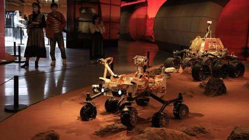 China Lands Spacecraft On Mars In Latest Advance For Its Space Program
