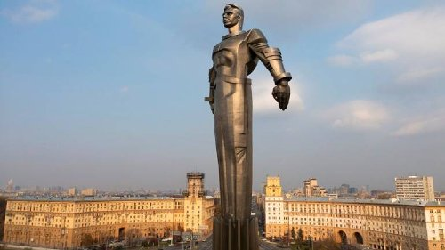 From Moscow To Pacific, Russia Glorifies 60 Years Of Yuri Gagarin's Spaceflight