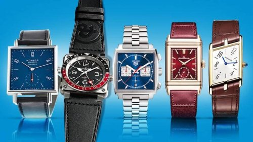 The Unconventional, Singular Elegance Of Square Watches