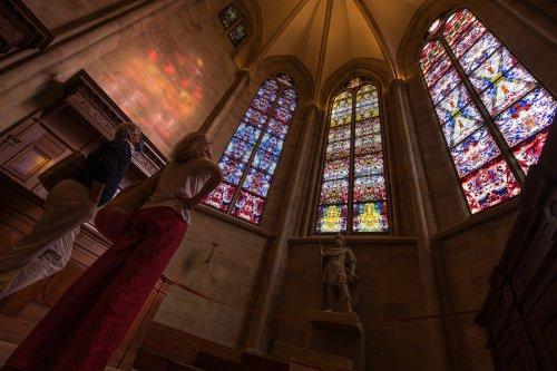 Run auf Richters Fenster - Immer mehr Besucher in der Abtei Tholey