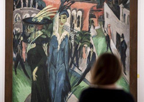 """Kirchners """"Potsdamer Platz"""" hängt wieder in der Neuen Nationalgalerie"""