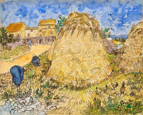 Van-Gogh-Aquarell könnte neuen Auktionsrekord erzielen