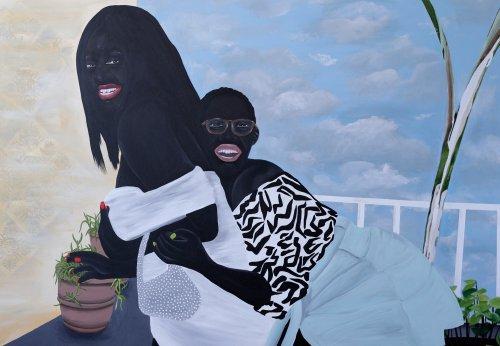 Malerin Zandile Tshabalala: Neues unterm Magritte-Himmel