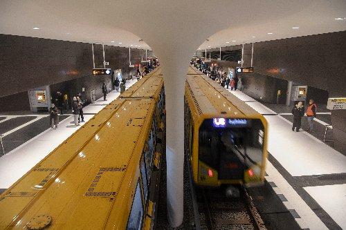 Neuer U-Bahnhof Museumsinsel öffnet am 9. Juli