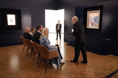 Neues Munch-Museum in Oslo vom Königspaar eröffnet
