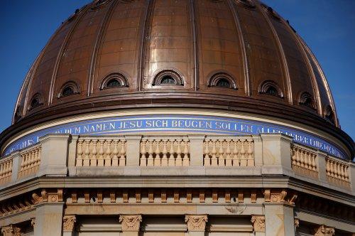 Humboldt Forum erlaubt Blick auf umstrittenen Unterwerfungsspruch
