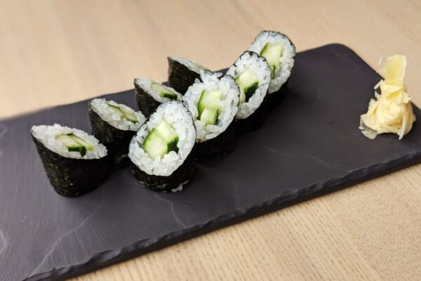 Vegetable Maki from Vancouver's Top Sushi Chefs