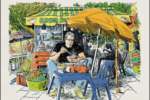 The Night Vancouver's Greatest Chefs Cooked for Anthony Bourdain at a Secret Party