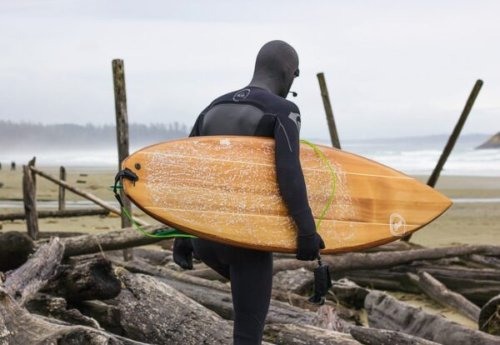 This B.C. Woodworker's Hand-Carved Surfboards Raise the Bar on Boards Everywhere