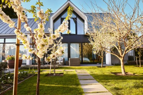 This Classic Dutch Farmhouse in the Heart of West Vancouver Has an Abundant Urban Orchard and West-Coast Flair