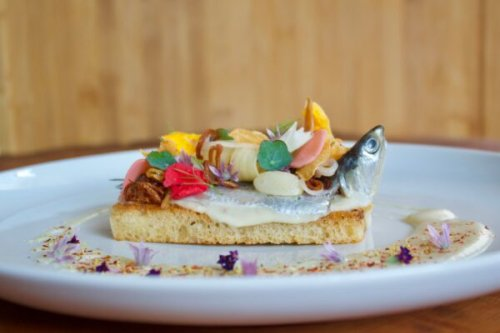 A Secluded B.C. Resort's Recipe for Italian-style Fresh Pacific Sardines on Toast