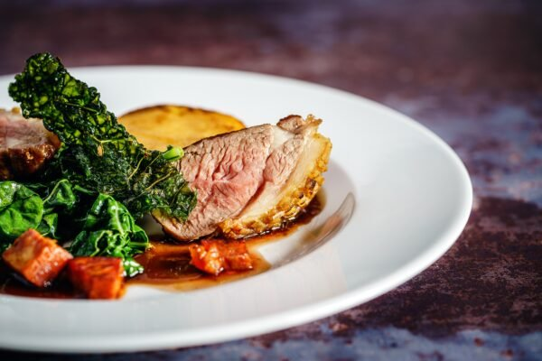 Chef Emmanuel Joinville of Jules Bistro's Seared Duck Breast for Father's Day