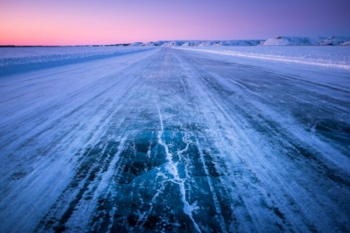 Road Trips: From Icy, Remote Roads to Rolling Lush Valleys