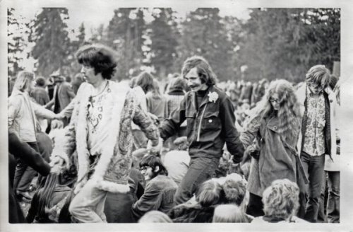 When Thousands of Vancouverites Converged in Stanley Park for a Love-In
