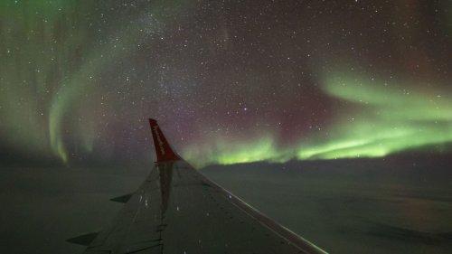 Air North Aurora 360 Flight