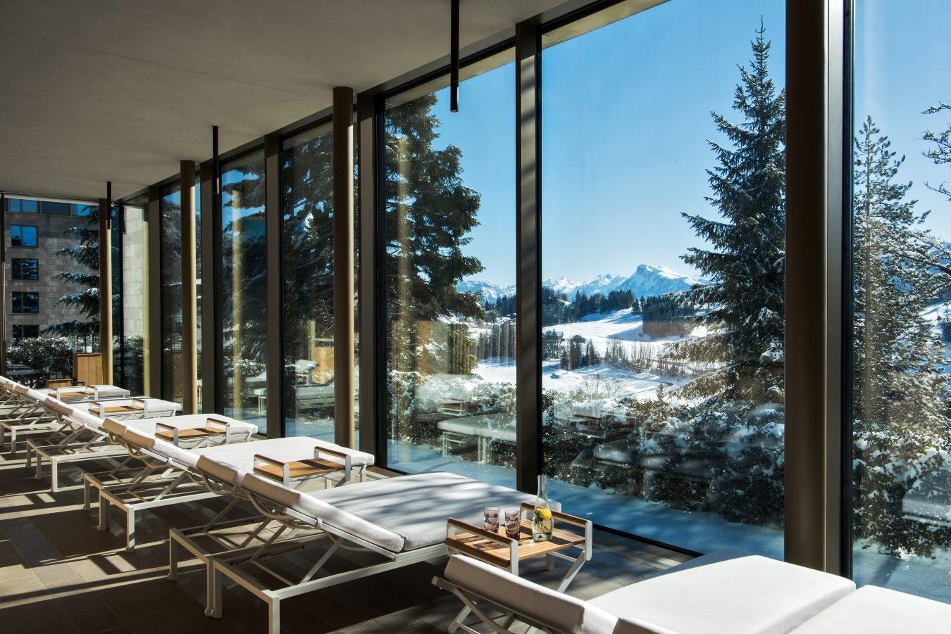 Switzerland's Opulent Bürgenstock Resort