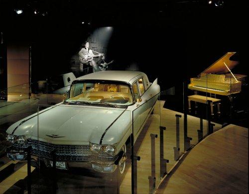Elvis Presley's 1960 Gold Cadillac