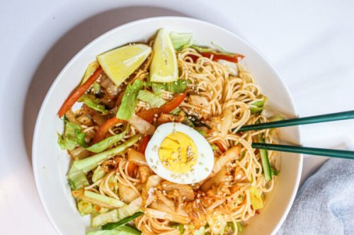 Vancouver's Kimchi Specialist Shows Us How to Make Her Mom's Kimchi Noodle Salad