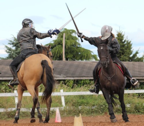 Meet Canada's Queen of Mounted Combat Who Brought Medieval Sport Into the 21st Century