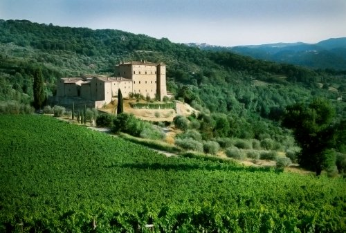 A Must-Visit Tuscan Castle