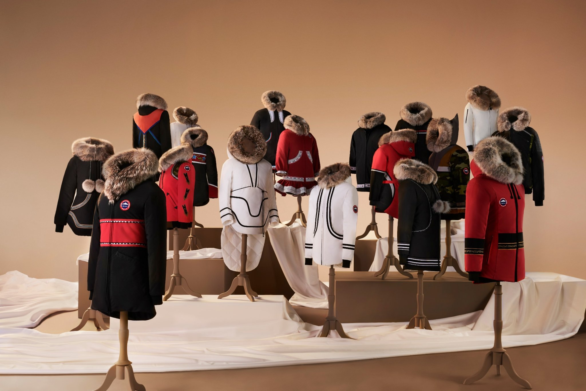 Canada Goose Launches New Inuit Traditional Parkas Collection